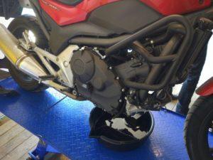 замена масла в мотоцикле